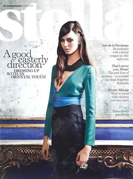 Коллекция Gucci SS 2011 появилась на 50 обложках журналов. Изображение № 47.
