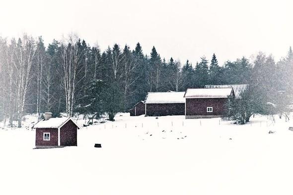 Классический красный дом на пути из Wreta в Эскильстуну. Изображение № 61.