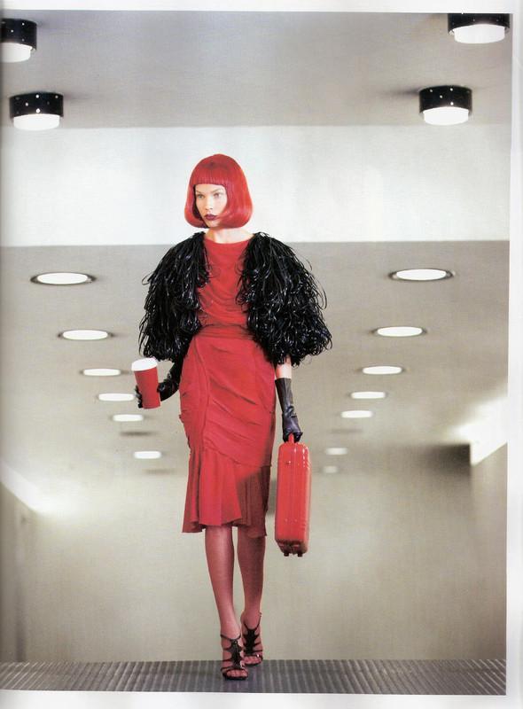 Съёмка: Бритт Марен для испанского Vogue. Изображение № 7.