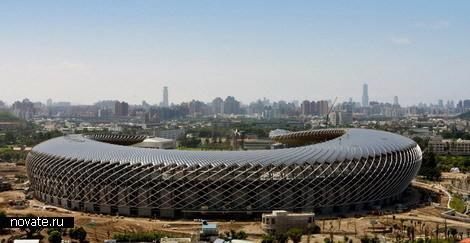 Стадион насолнечных батареях. Изображение № 2.