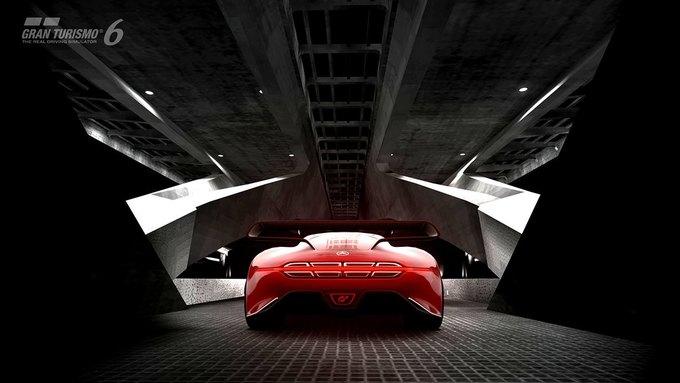 Mercedes-Benz разработала концепт спорткара для новой части Gran Turismo. Изображение № 25.
