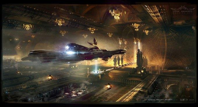 Художник «Восхождения Юпитер» выложил концепты к фильму. Изображение № 12.