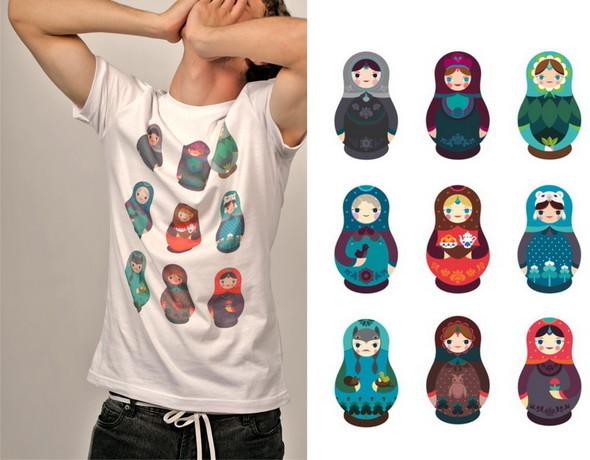 Дизайнерские футболки отT-store. Изображение № 25.
