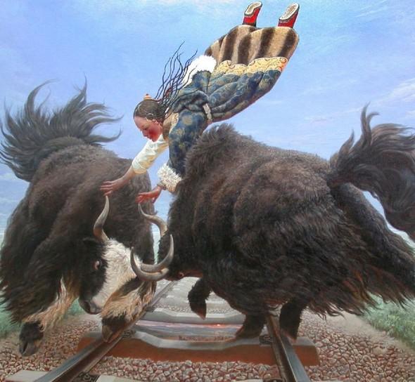 Wang Yi Guang. Feitain, или летающий пух. Изображение № 23.
