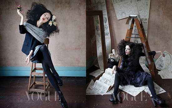 """Legend of fall"" Coco Rocha for Vogue Korea. Изображение № 3."