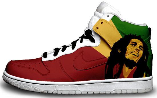Метаморфозы белых кроссовок Nike. Изображение № 9.