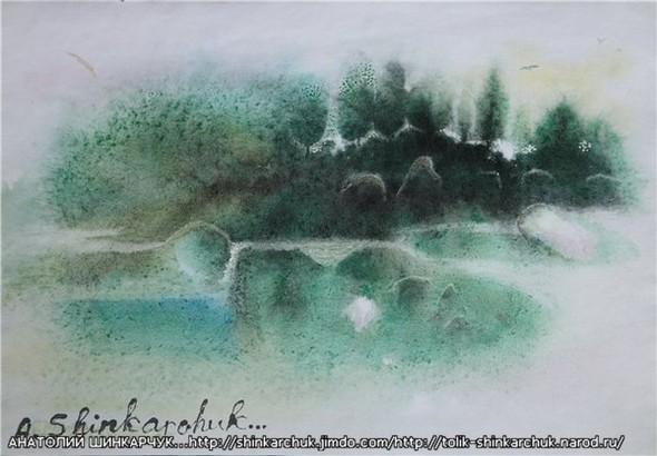 Shinkarchuk Anatoly watercolor and Japan Шинкарчук Анатолий акварель и Япония. Изображение № 5.
