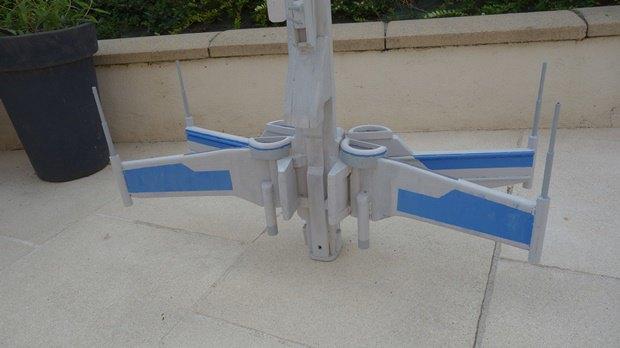 Энтузиаст собрал дрон в виде истребителя X-Wing. Изображение № 20.