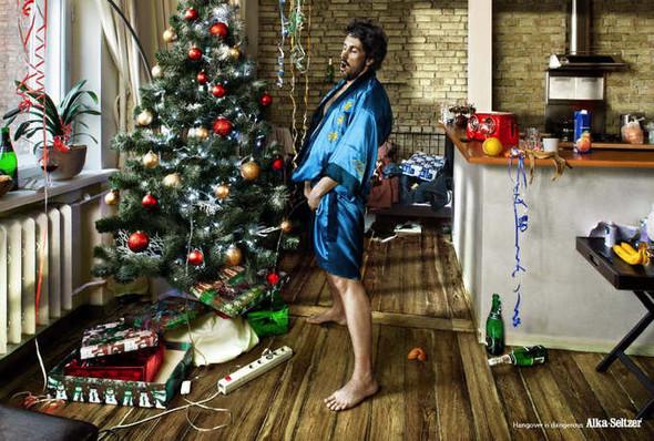 Новогоднее - Рождественский креатив в рекламе. Изображение № 2.