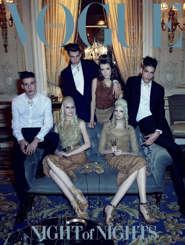 Обложки: Vogue, Elle, Dress to Kill и другие. Изображение № 1.