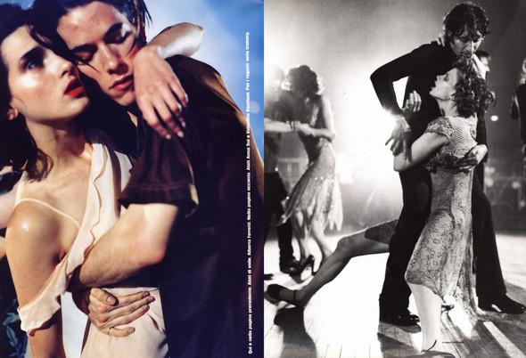 Архивная съёмка: сет Fashion Marathon из итальянского Vogue за 1997 год. Изображение № 9.
