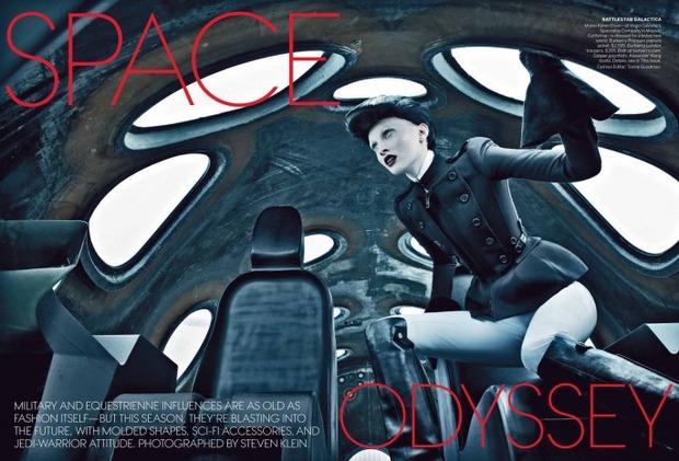 Новые съемки Dazed & Confused, Vogue, i-D и W Magazine. Изображение № 45.