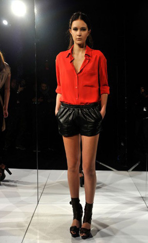 Lublu Kira Plastinina FW 2011 на показе на Нью-Йоркской неделе моды. Изображение № 21.