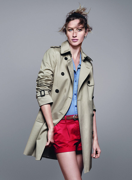 Жизель Бундхен представила новую коллекцию марки Esprit. Изображение № 4.