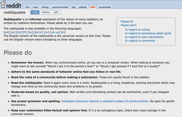 9 советов для тех,  кто пользуется Reddit. Изображение № 2.