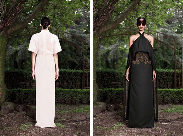 Кутюр в деталях: Маски, бисер и кожа в коллекции Givenchy. Изображение № 26.
