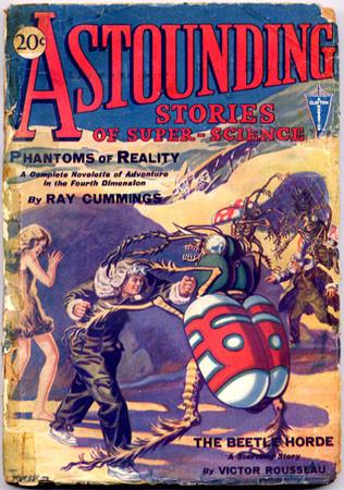 Космические обложки Pulp-журналов. Изображение № 4.