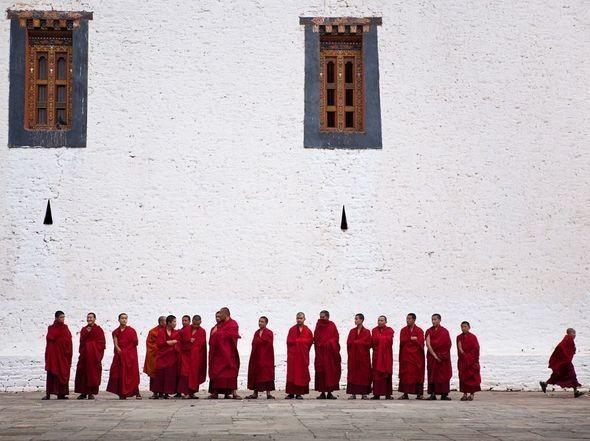 Monks, Bhutan. Изображение № 24.
