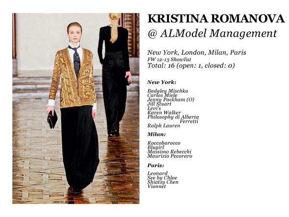 Al Model Management: Сезон показов осень-зима 12.13. Изображение № 7.