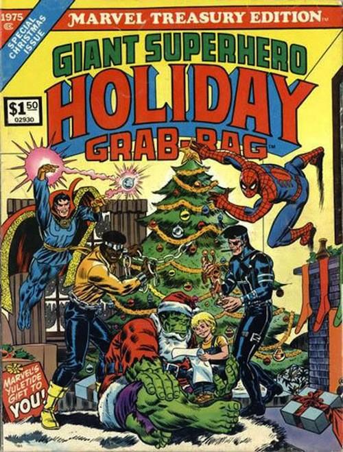 20 новогодних обложек комиксов. Изображение № 14.