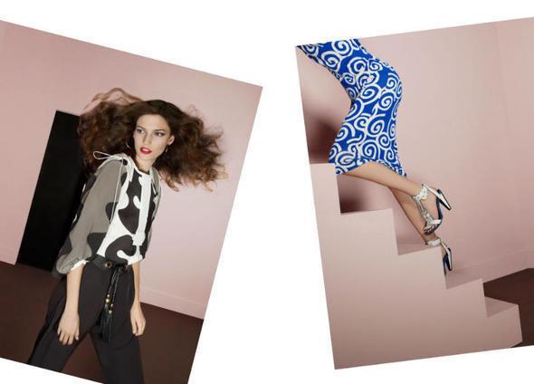 Изображение 25. Рекламные кампании: Diane von Furstenberg, Karl Lagerfeld, McQ и другие.. Изображение № 12.