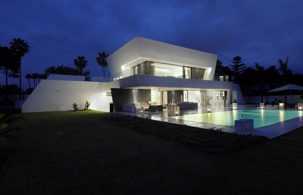 Дом Sotogrande от студии A-cero Architects. Изображение № 3.