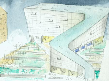 Архитектурные акварели стивена холла. Изображение № 31.