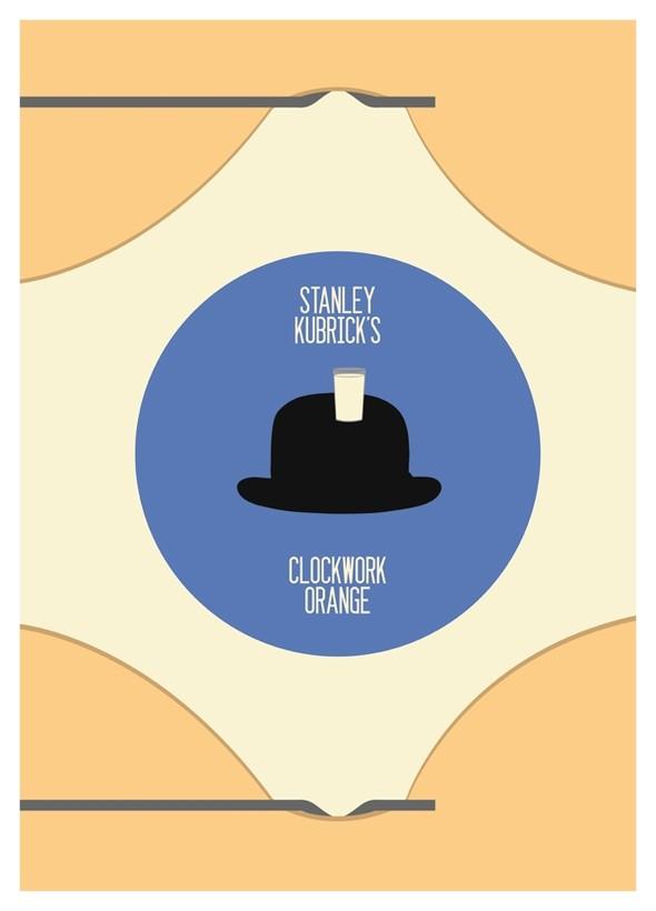 A Clockwork Orange - 20 кинопостеров на тему ультранасилия. Изображение № 20.