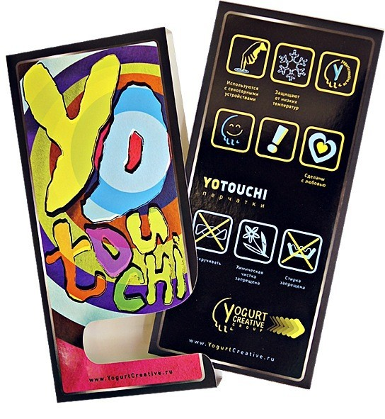 Перчатки YOTOUCHI от Yogurt Creative Group. Изображение № 15.