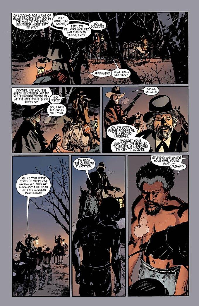 Появился комикс по «Джанго освобожденному». Изображение № 3.