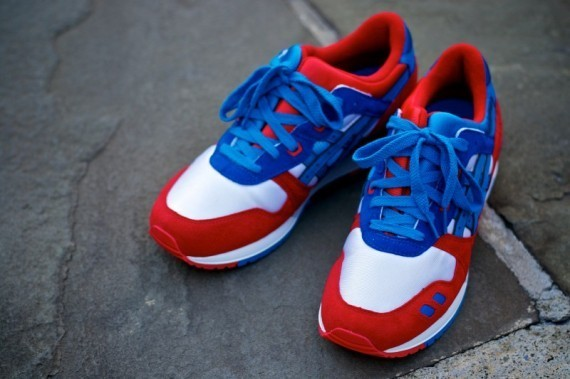 Asics Gel Lyte III + GT-II Fall/Winter 2011 релизы в Kith. Изображение № 13.