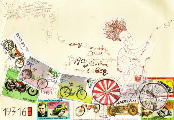Mail art: почтовые радости своими руками. Изображение № 7.
