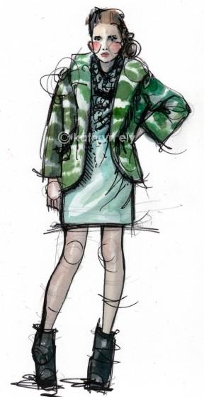 Kathryn Elyse. Fashion Illustrations. Изображение № 7.