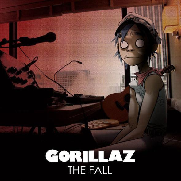 Изображение 1. Gorillaz 'The Fall'.. Изображение № 1.
