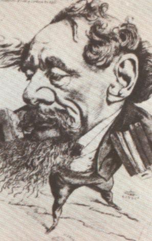 Карикатуры на писателей. Изображение № 1.