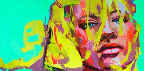 Красочные портреты Франсуазы Нилли. Изображение № 2.