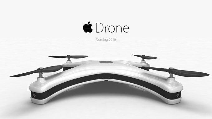 Немецкий дизайнер показал концепт Apple Drone. Изображение № 1.