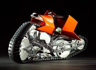 Гусеничные мотоциклы. Изображение № 4.