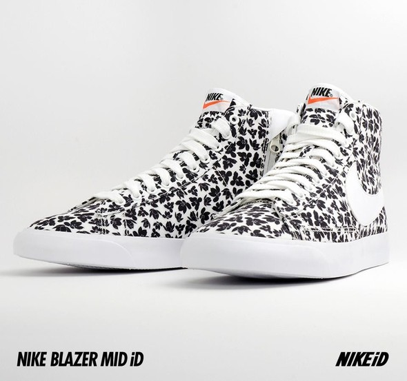 Nike X Liberty Summer Collection/  Blazer Mid iD.. Изображение № 16.