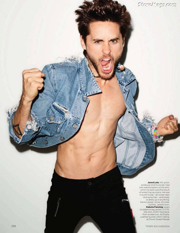 Съёмка: Терри Ричардсон для британского Vogue. Изображение № 13.