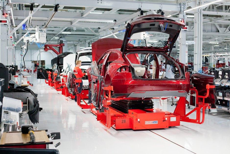 Как создаются электромобили Tesla. Изображение № 4.