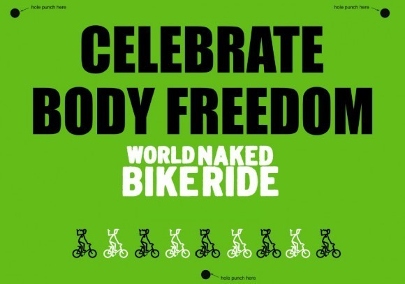 World Naked Bike Ride Day. Изображение № 6.