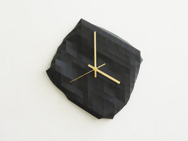 Необычные дизайнерские настенные часы. Изображение № 7.