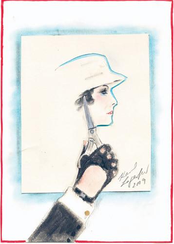 Иллюстрация Карла Лагерфельда к книге «Coco Chanel. Легенда и жизнь» . Изображение № 8.
