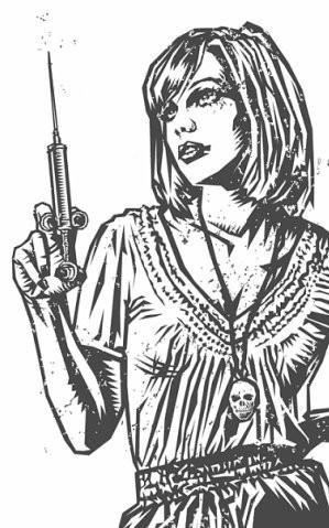 Девушки с оружием от Frank Barbara. Изображение № 31.