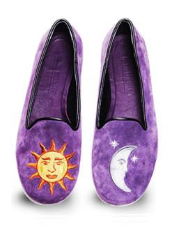 Mario Molinaro - обувь с вышивкой. Изображение № 8.