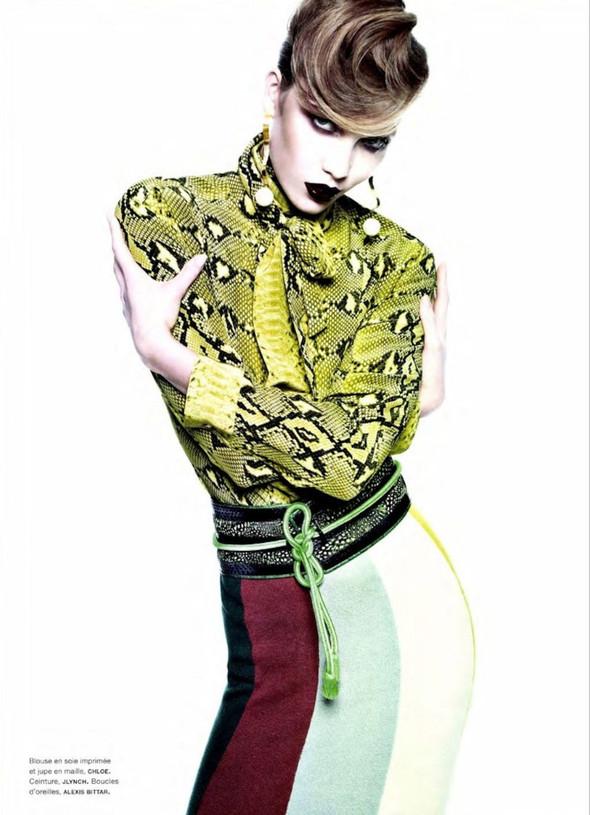 Съёмка: Карли Клосс для Numero. Изображение № 10.