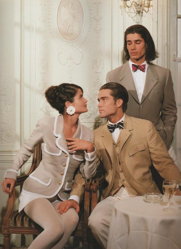 Архивная съёмка: Рекламная кампания Chanel SS 1990. Изображение № 9.