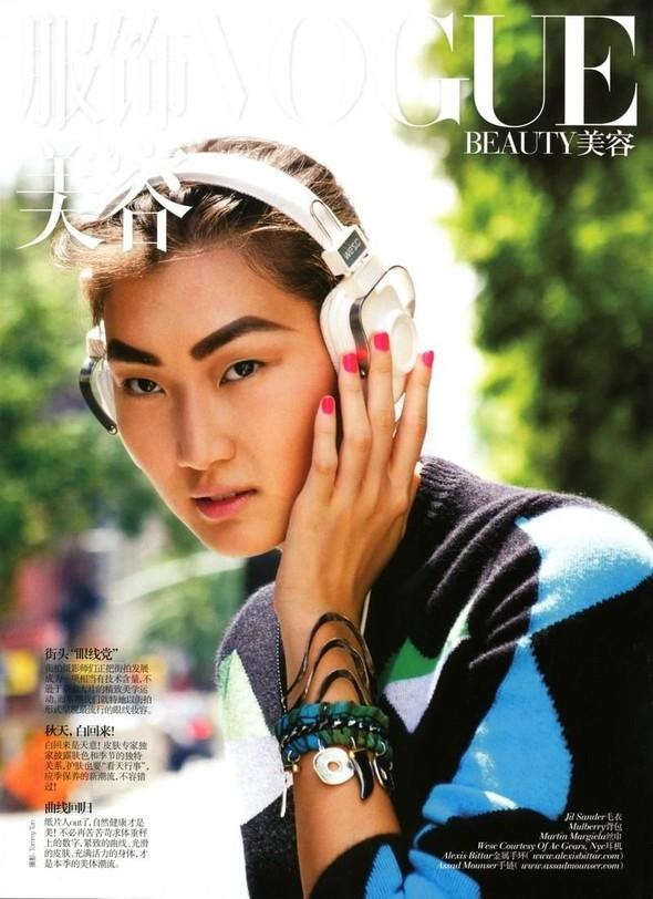 Съёмка: Томми Тон для китайского Vogue. Изображение № 1.