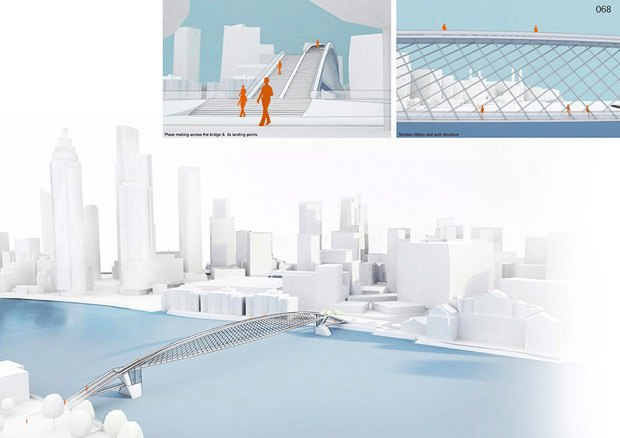 Выложены 74 проекта нового моста через Темзу. Изображение № 72.